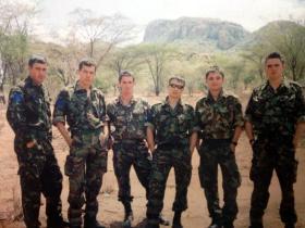 Members of 2 PARA, Kenya 2009.