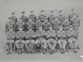 Tony Yarwood's Pln, 2 PARA in Northern Ireland, c1980.