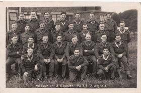 92 Section, 2 Sqn, 1st OTB Royal Signals, 1946.