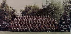 Group photo of No 1 (Guards) Independent Parachute Coy, Pirbright, 1963