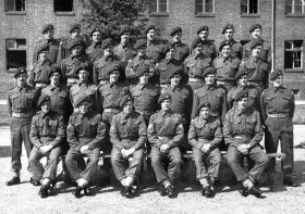 7 Platoon, D Company, The First Battalion The Parachute Regiment, Germany 1948.