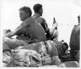 Members of Rodney Platoon C Coy 2 PARA Derna Libya c1959