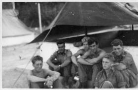 Some of Rodney Platoon, C Coy, 2 PARA, Libya circa 1959/60.