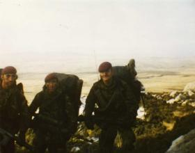 Men of 3 PARA in the Falklands, 1982