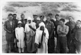 Members of Rodney Platoon  C Company 2 PARA Libya 1960