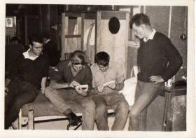Members of D Coy 2 PARA Bahrain circa 1963-64