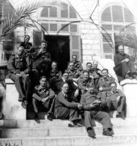 Group photograph of Army Chaplains, unknown location, c1943.