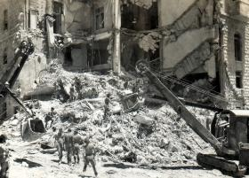 After the King David Hotel bombing, July 1946.