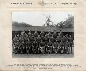 Sergeant's Mess, PCAU. 1949.