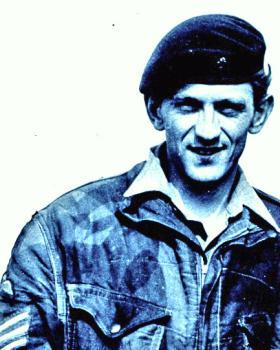 Sergeant E Nunn, c1950s.