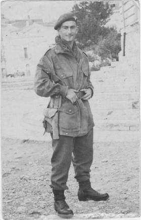 Pte Francis Wood Italy October 1943