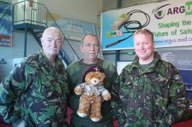 Three suspicious characters with Sgt Hotspur, 2009
