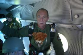 """Ian Marshall with his """"special friend""""!, April 2009"""