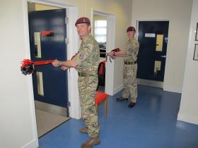 Welfare facilities equipped to entertain high-readiness troops, 10 June 2015.