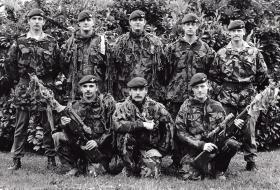 3 PARA's Sniper Team, date unknown.