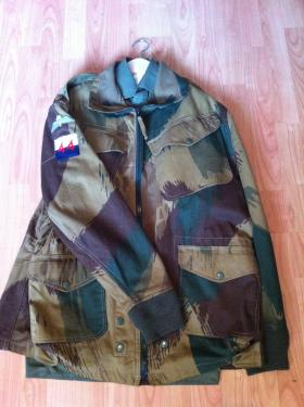 Denison Smock 1959 Pattern, dated 1966, made by BMC. Badged to 44th Parachute Brigade, Signals.