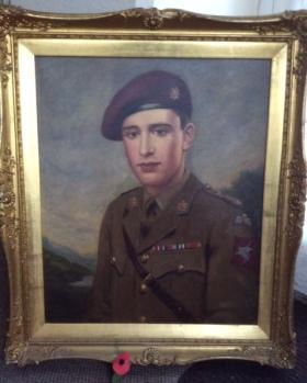 Portrait of Capt AE Roberts