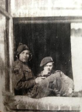 Two members of 13 Para Bn during Op Varsity or the advance to the Baltic, 1945.