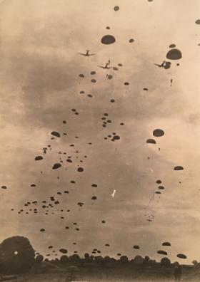 Drop at Elephant Point Rangoon 1945