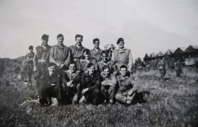 A training stick from Course B224 RAF Upper Heyford 1947