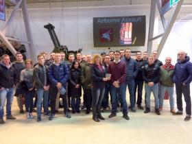 B Company 4 PARA's visit to Airbonre Assault Duxford, 03 December 2016.