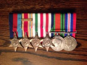 Medal Set of Pte James Trainor.