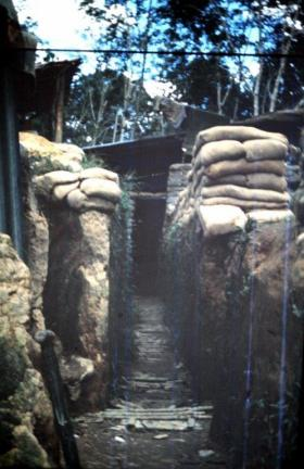 Bunker in Borneo, date unknown.
