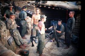 Members of 2 PARA, Borneo, date unknown.
