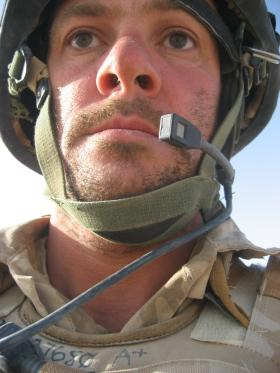 Chinstrapped in Helmand - summer 2008