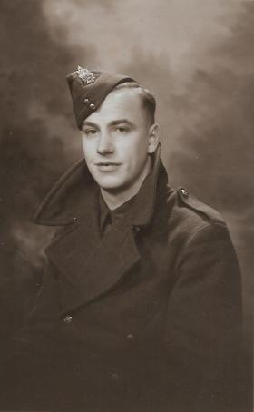 Pte S Byrom, c1943.