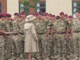 HRH The Duchess of Cornwall Presents Medals, Colchester, June 2011