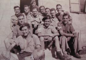 Paratroopers of 11th Parachute Battalion, Tel Aviv, 1943