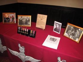 The Memory Table for Maj Timothy, 3 Nov 2011