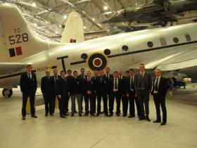 Group visit of 51 Para Sqn, Royal Engineers, Airborne Assault, Duxford, Feb 2012