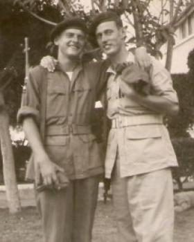 Erik Vedsegaard (on left) and colleague