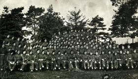 Members of 2nd Battalion South Staffordshire Regiment, October 1944.