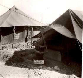 Camp Tent, Camp H Cyprus