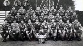 Members of No 1 (Guards) Independent Parachute Company 1967.