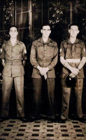 Three members of 7th (LI) Para Bn, Far East, 1945.