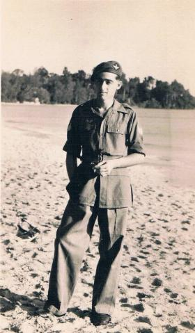 A Corporal of 7th (LI) Para Bn, Far East  c1946.