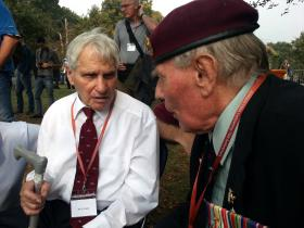 Gerald Infield and Harold Padfield, Ginkel Heath, September 2014.