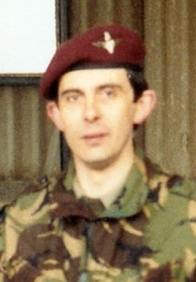 Sgt Stephen West, 10 PARA (V), date unknown.