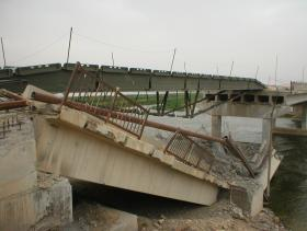 ABLE built bridge Op Telic 1