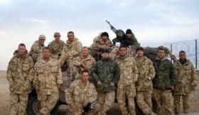 Sniper and Patrol Platoon, Iraq, 2005.