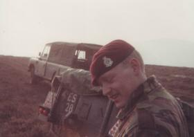 Mark Holding at the Isle of Man DZ, April 1984