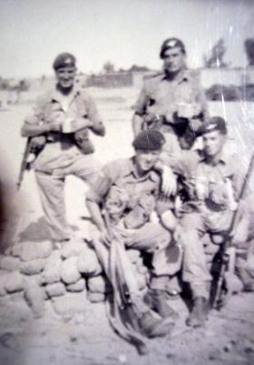 Members of 2 PARA, Ismailia, c1952