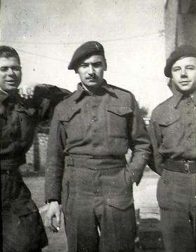 Men from 4th Para Bn, Italy c1945.