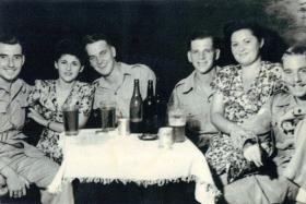 Members of 7th Para Bn in Palestine, c1946.