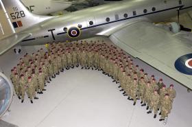 2 PARA visit Airborne Assault, Duxford, March 2012