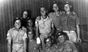 Members 156 Parachute Battalion, c1942.